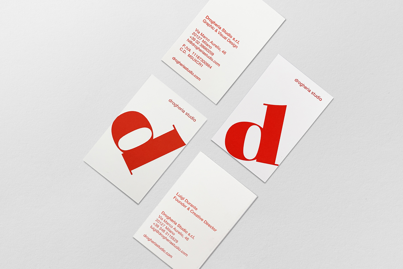drogheria studio brand identity logo