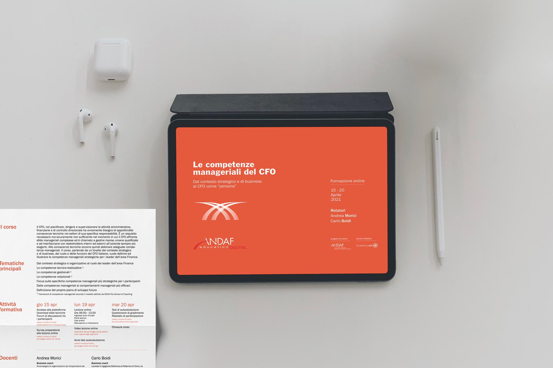 Andaf visual design graphic ipad