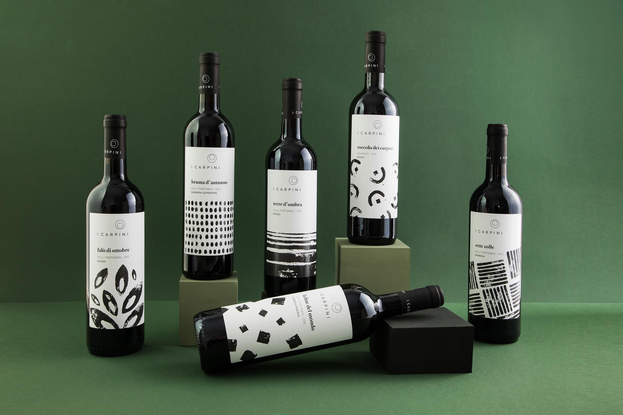 2_GROUPAGE_Barbera_i_carpini_wine_packaging_design_wine_design_drogheria_studio_ROSSO_BASSA