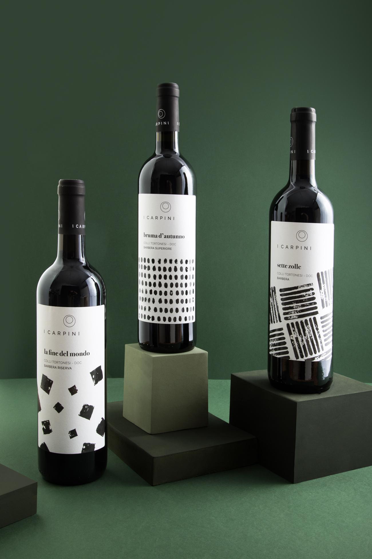 3_Barbera_2_i_carpini_wine_packaging_design_wine_design_drogheria_studio_ROSSO