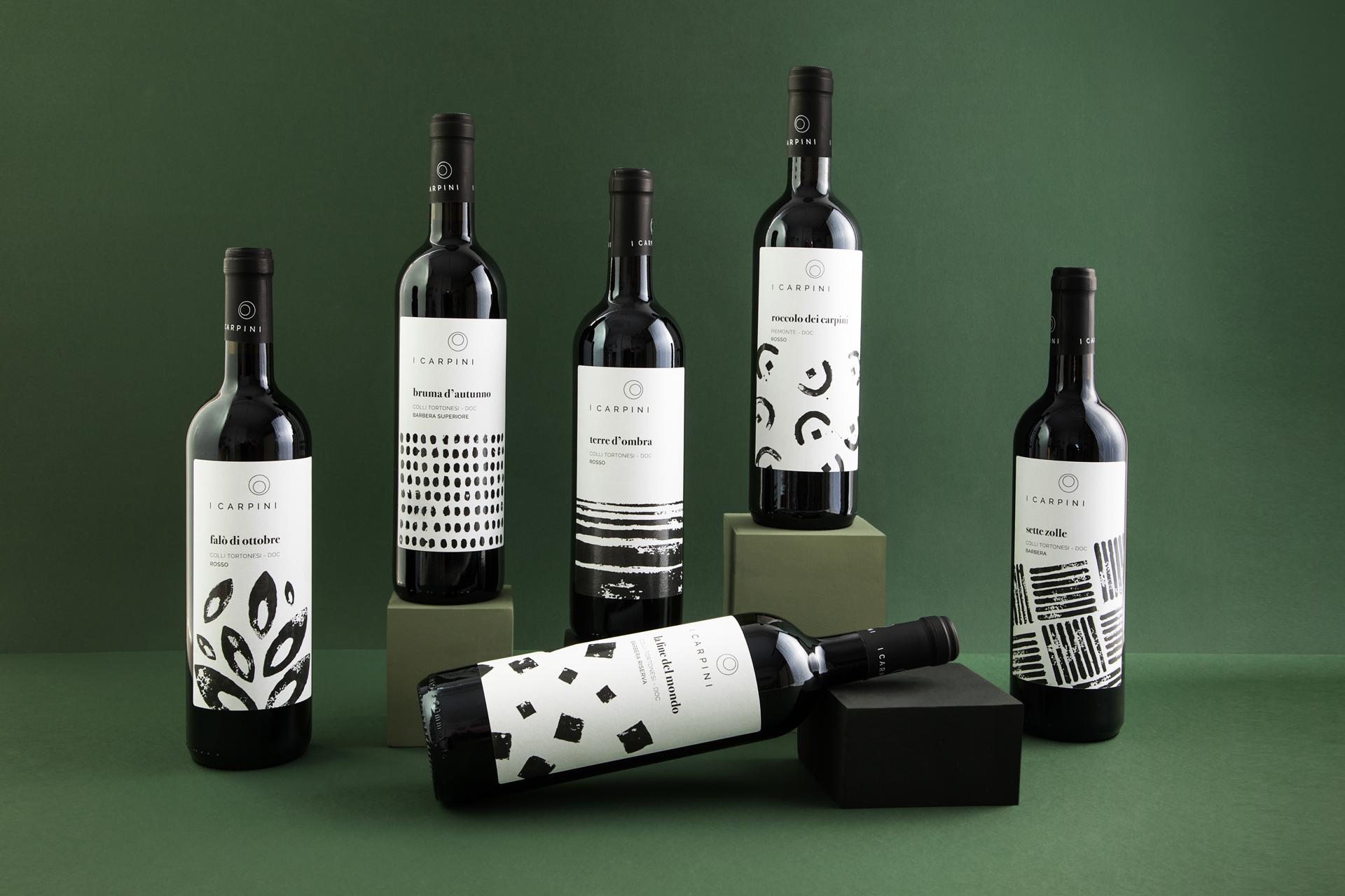 GROUPAGE_Barbera_i_carpini_wine_packaging_design_wine_design_drogheria_studio_ROSSO_BASSA